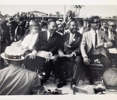 Icons & people: Rev. Dr. Martin Luther King, Ralph Abernathy, Sammy Davis Jr.