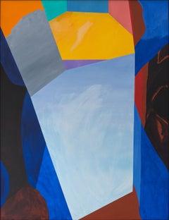Guy de Rougemont / Calme profondeur / 1996 / acrylic on canvas