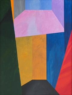 Guy de Rougemont / Espace fictif / 1996 / acrylic on canvas