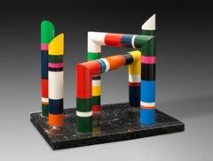 Sculpture colonnes de table / Guy de Rougemont / Edition of 8