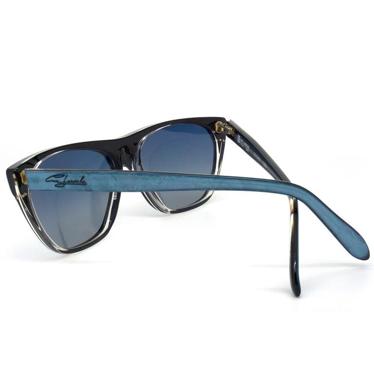Gray Guy Laroche 80s vintage sunglasses For Sale