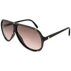 Guy Laroche black pilot sunglasses, made in France