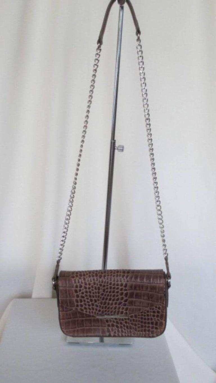 1stdibs Guy Laroche Crocodile Print Leather Bag EN3Pl