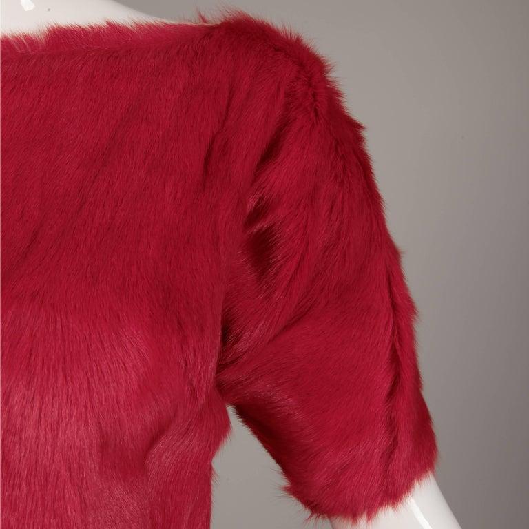 Women's or Men's Guy Laroche Fur Dress For Sale
