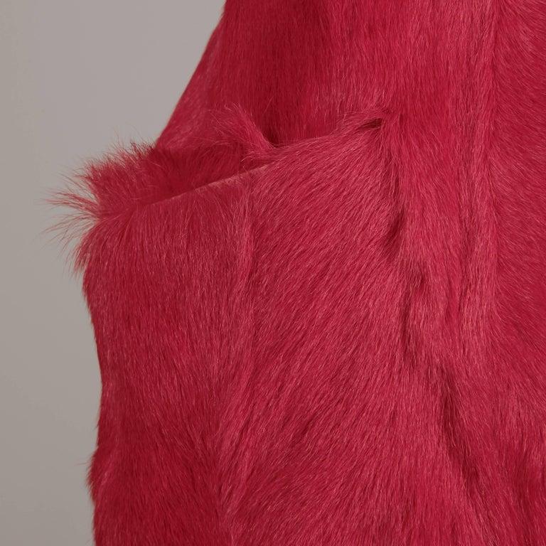 Guy Laroche Fur Dress For Sale 2