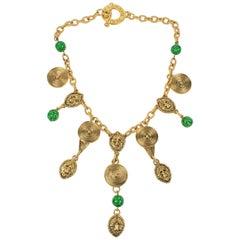 Guy Laroche Tribal-Inspired Choker Necklace