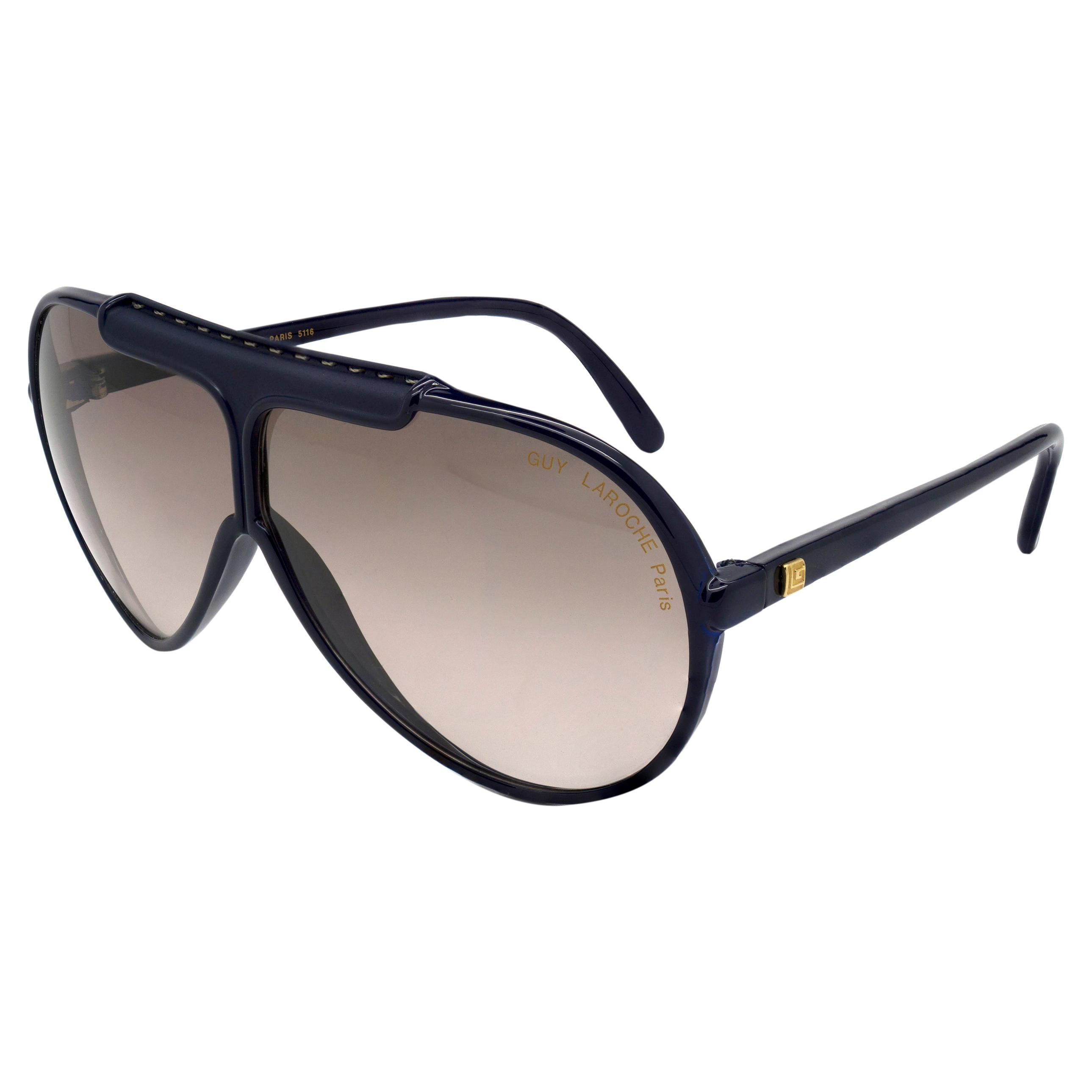 Guy Laroche vintage aviator sunglasses, France