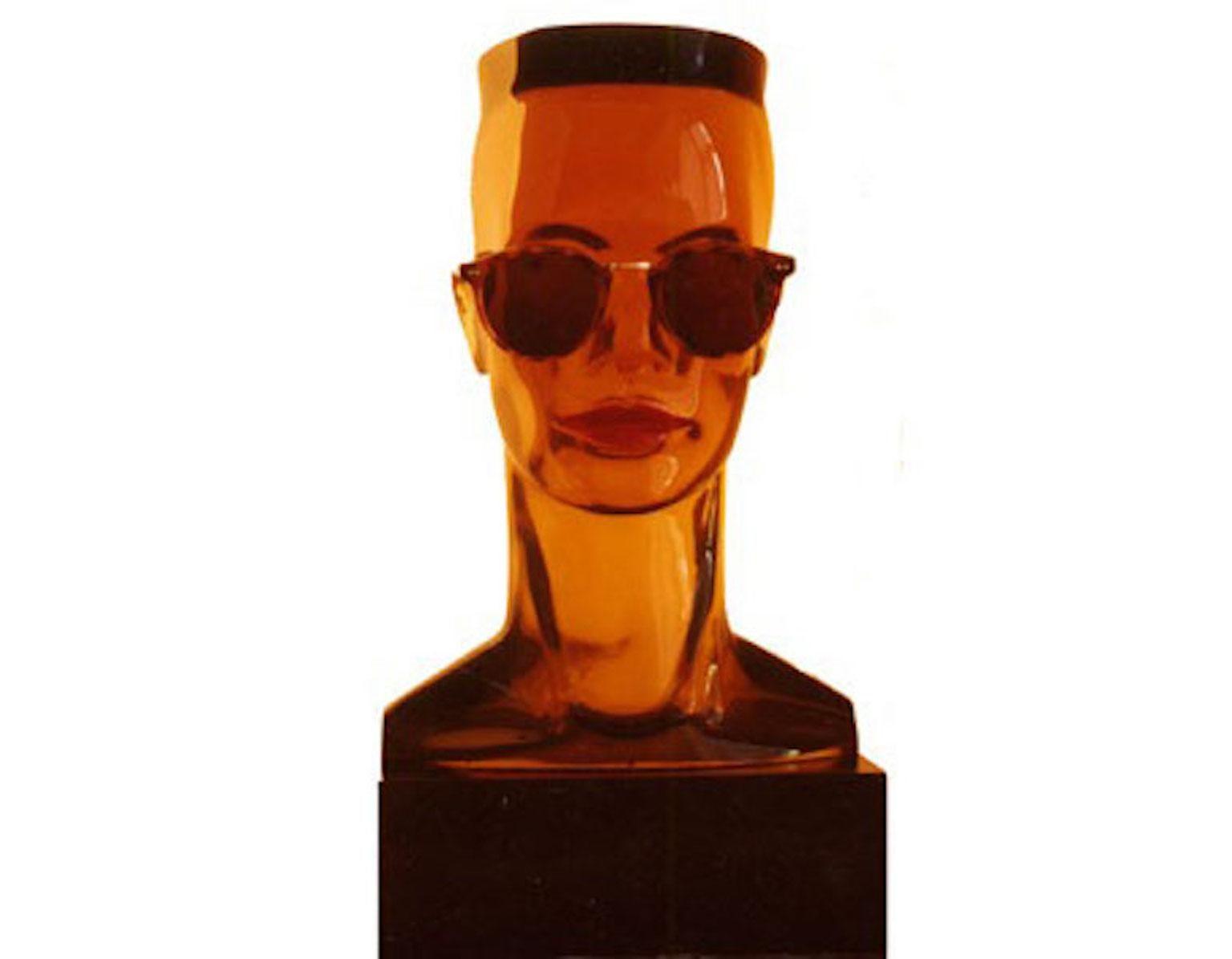 Grace Jones - Acrylic Resin limited edition sculpture contemporary Celebrity pop