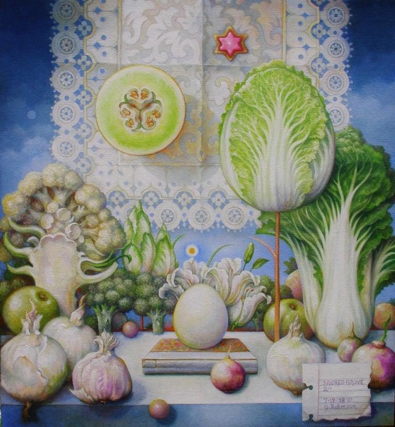 Guy Robinson Still-Life Painting - Sacred Grove #2