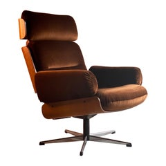 Guy Rogers Lounge Chair Eames Plycraft Style Mad Men Era Midcentury, 1960s