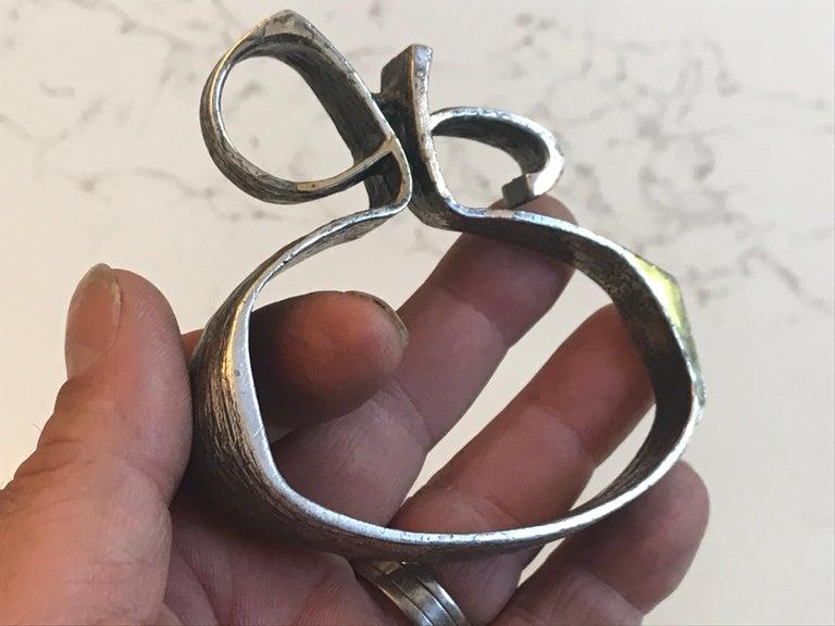 Guy Vidal Sculptural Pendant or Art Object For Sale 4