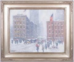 Snow, Madison Square New York City