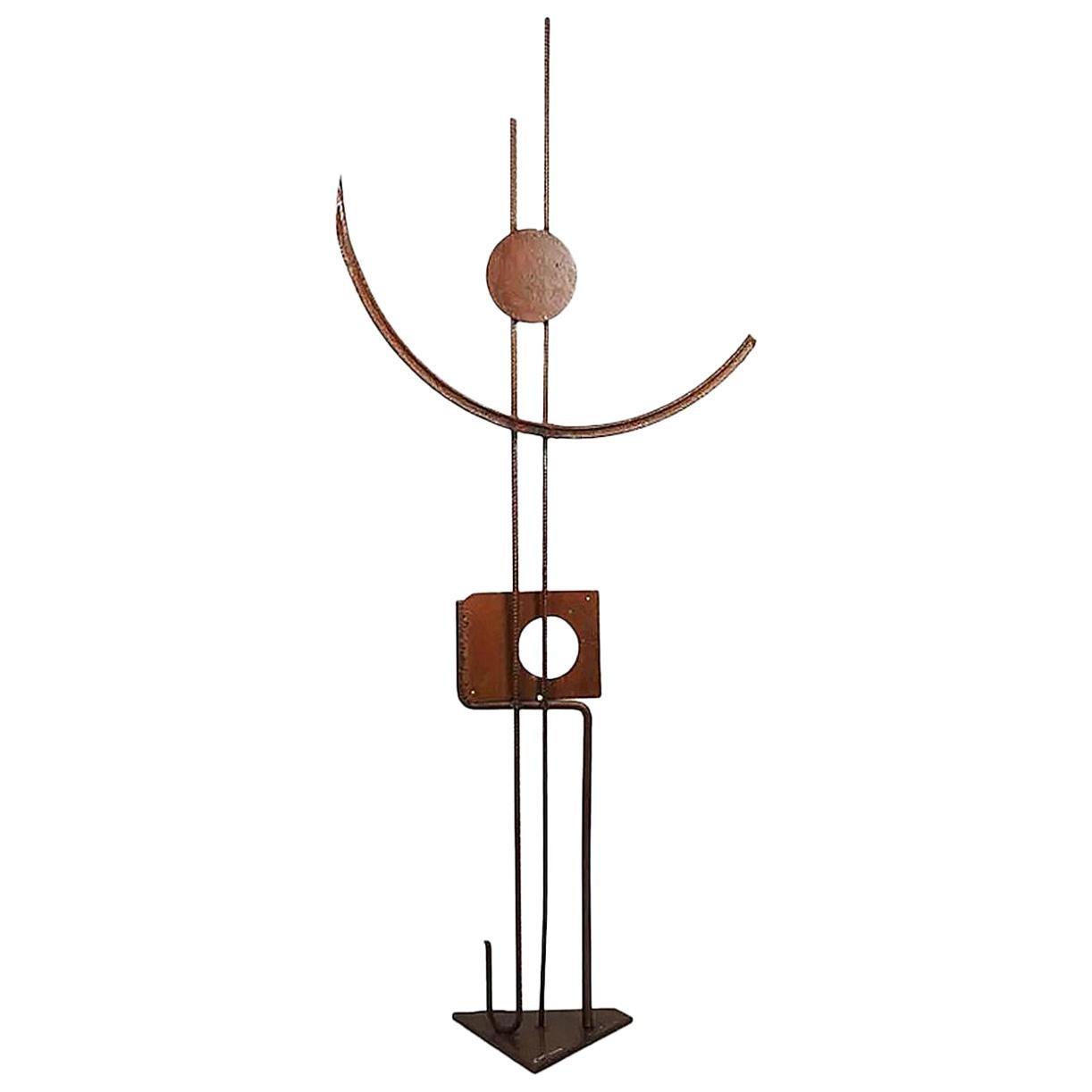 """Guylaine Guy '1929' """" Faux Et Usage De Faux """", Metal Assembly"""