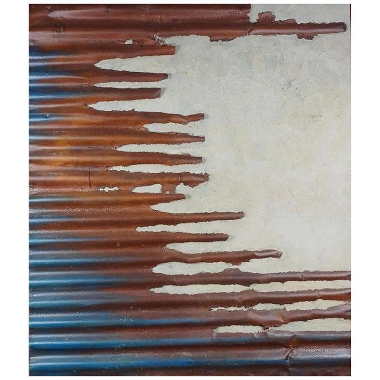 Guylaine Guy '1929' Mixed Technique On Panel, Back Left For Sale