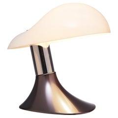 Guzzini Postmodern Italian Cobra Table Lamp