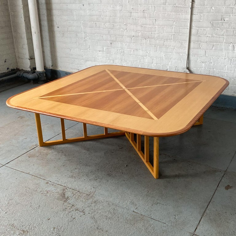 Vienna Secession Gwathmey Siegel Commission Cocktail Table For Sale