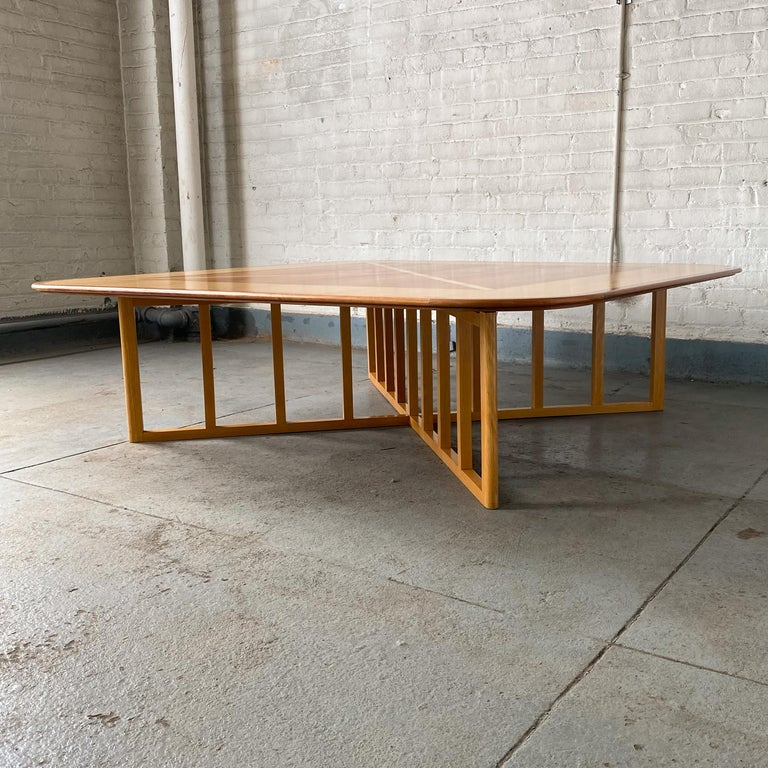 American Gwathmey Siegel Commission Cocktail Table For Sale
