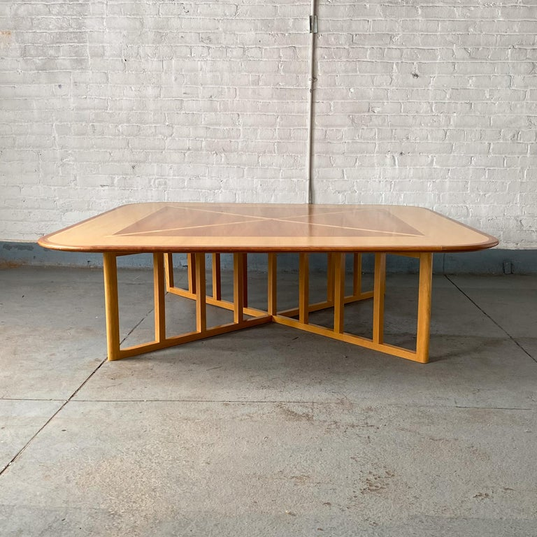 Inlay Gwathmey Siegel Commission Cocktail Table For Sale
