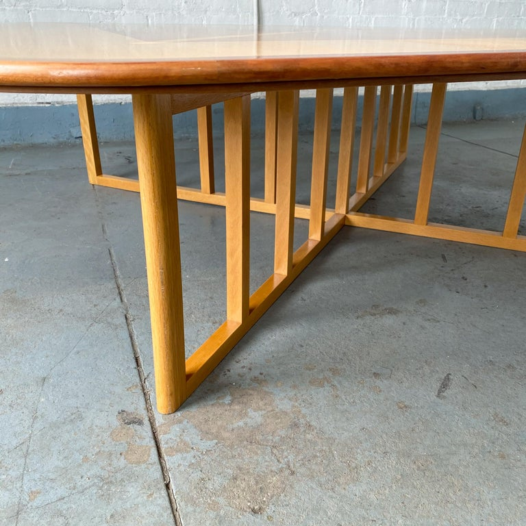 Late 20th Century Gwathmey Siegel Commission Cocktail Table For Sale