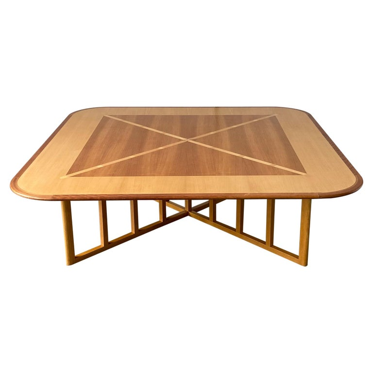 Gwathmey Siegel Commission Cocktail Table For Sale