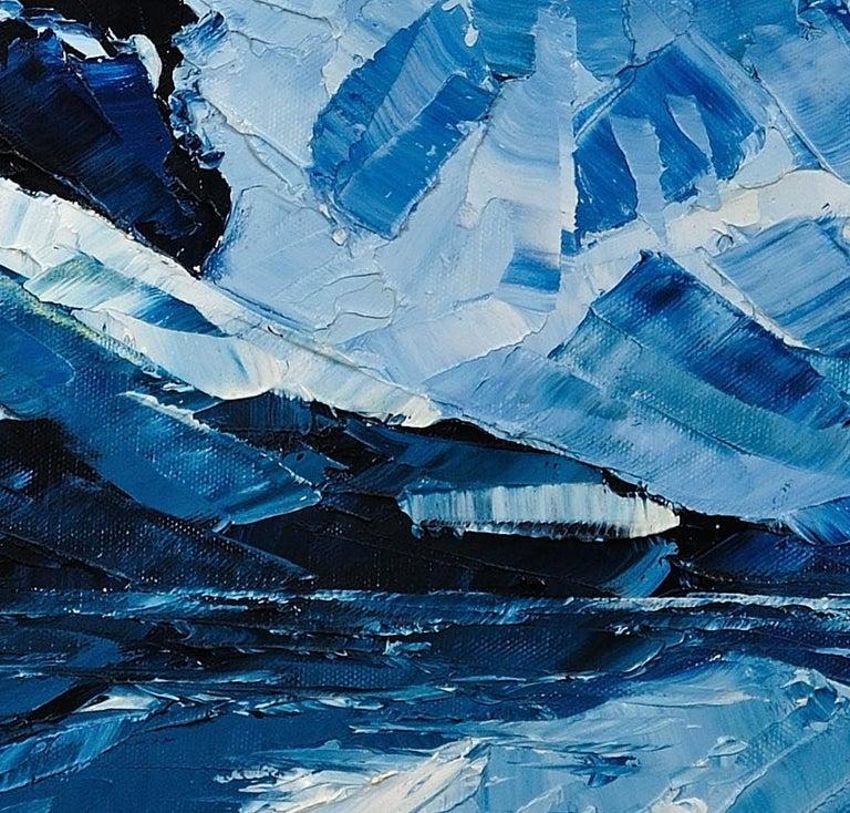 Y Garn,Eryri (Snowdonia, Wales). Welsh Artist.Original Oil Painting.Contemporary For Sale 11