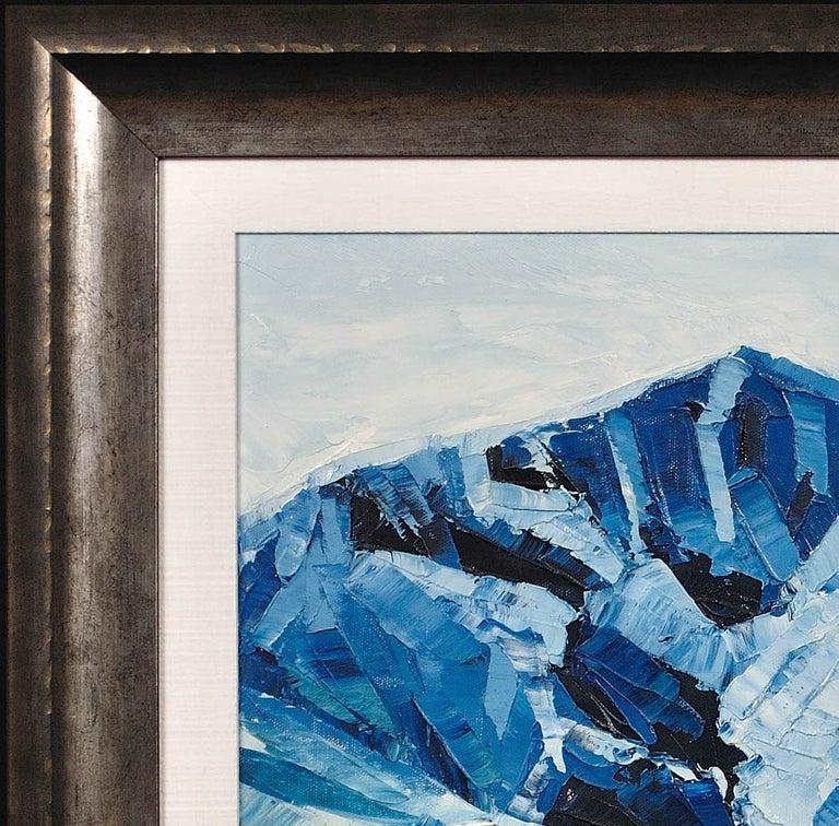 Y Garn,Eryri (Snowdonia, Wales). Welsh Artist.Original Oil Painting.Contemporary For Sale 5
