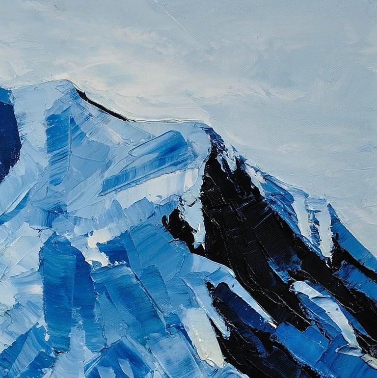 Y Garn,Eryri (Snowdonia, Wales). Welsh Artist.Original Oil Painting.Contemporary For Sale 7