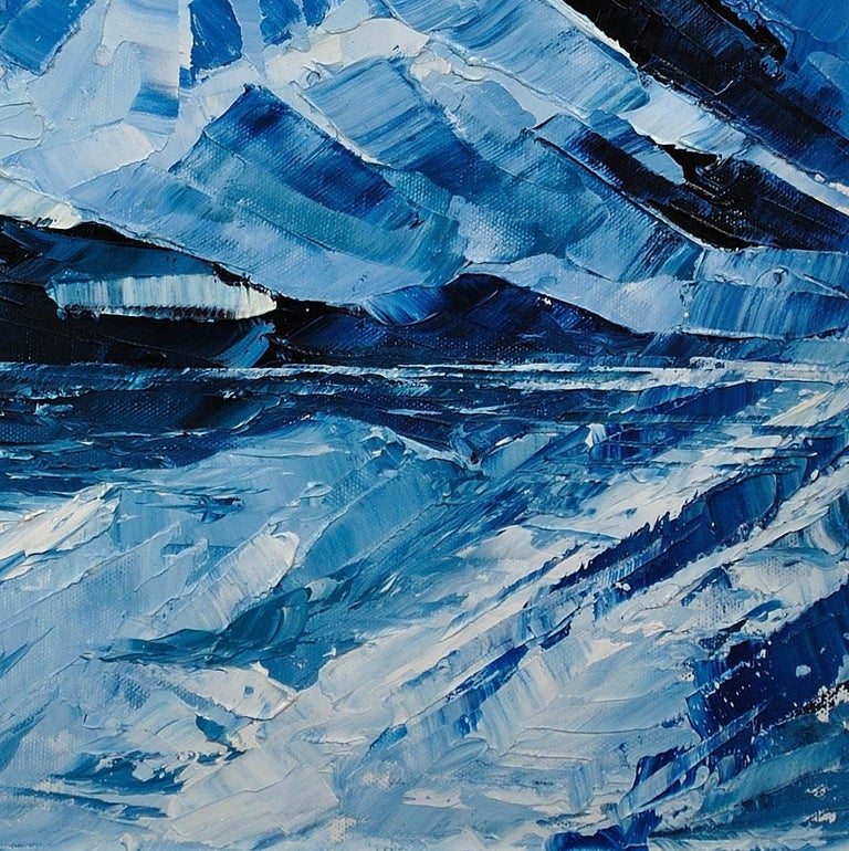 Y Garn,Eryri (Snowdonia, Wales). Welsh Artist.Original Oil Painting.Contemporary For Sale 9