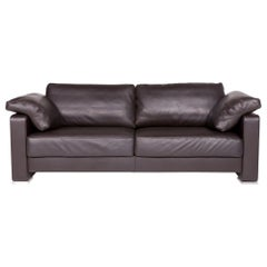 Gyform Composit A Divano 206 Leather Sofa Brown Dark Brown Two-Seat Couch