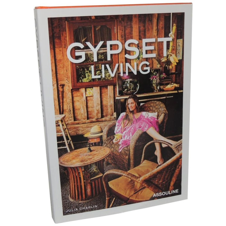 Gypstet Living Decorative Hard-Cover Assouline Book For Sale