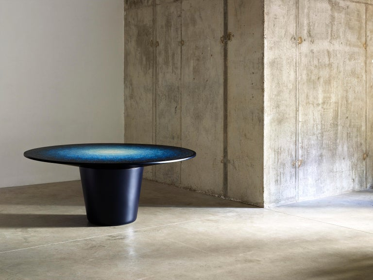 Gyro, Round Mosaic Table in Recycled Ocean Plastic Terrazzo by Brodie Neill 6