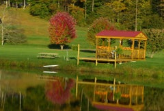 Gazebo, Reflection Pond I