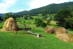 Haystacks- Landscape Photograph