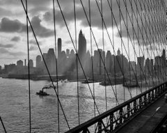 Brooklyn Bridge Tugboat (1953) Archival Pigment Print - Oversized
