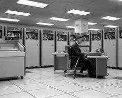 Programmer (1964) Silver Gelatin Fibre Print - Oversized