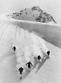 Swiss Alps (1928) Silver Gelatin Fibre Print - Oversized