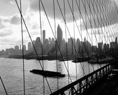 The Brooklyn Bridge (1959) Silver Gelatin Fibre Print - Oversized