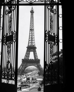 The Eiffel Tower (1929) Silver Gelatin Fibre Print - Oversized