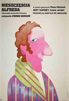 French Films - Vintage Offset Print by H. Bodnar - 1973