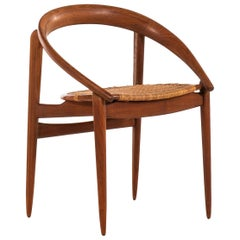 H. Brockmann-Petersen Armchair by Cabinetmaker Louis G. Thiersen & Søn