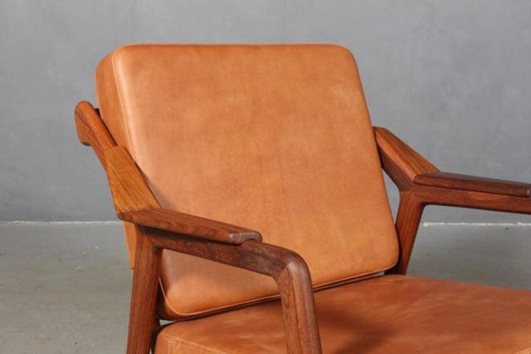 Scandinavian Modern H. Brockmann Petersen Lounge Chair