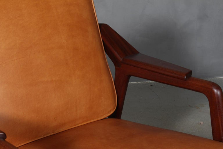 Danish H. Brockmann Petersen Lounge Chair For Sale