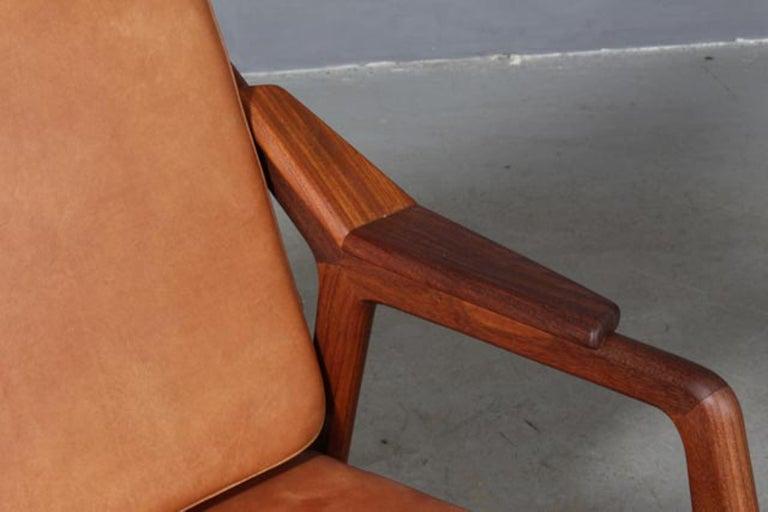 H. Brockmann Petersen Lounge Chair In Excellent Condition In Esbjerg, DK