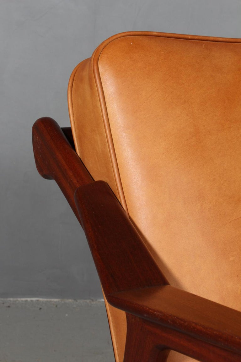 Mid-20th Century H. Brockmann Petersen Lounge Chair For Sale
