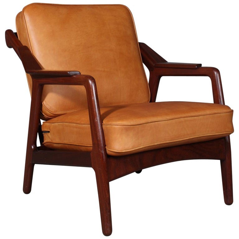 H. Brockmann Petersen Lounge Chair For Sale