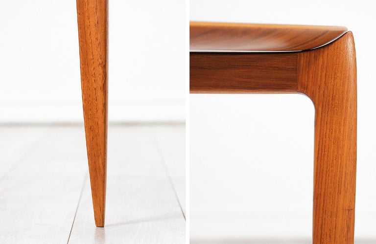 H. Engholm & Svend Åge Willumsen Folding Tray Table for Fritz Hansen For Sale 3