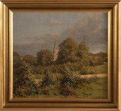 """""""Frederiksborg Castle"""" by H. Erhard-Hansen (1949)"""