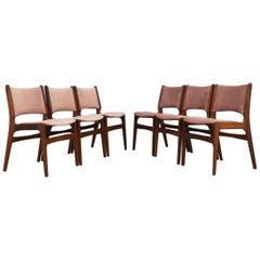 H. Kjaernulf Chairs Vintage Danish Design
