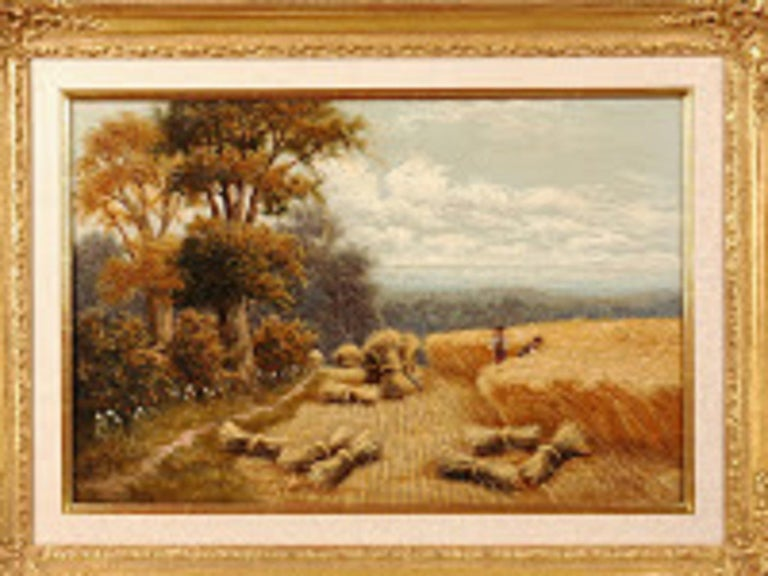 English H. Livens Oil Painting