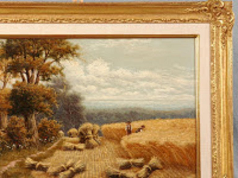 19th Century H. Livens Oil Painting